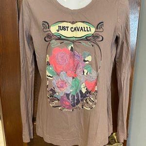 Just Cavalli long sleeve T-shirt.